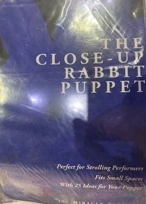 Close up Rabbit Puppet by The Miracle Factory