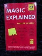 Magic Explained by Walter Gibson