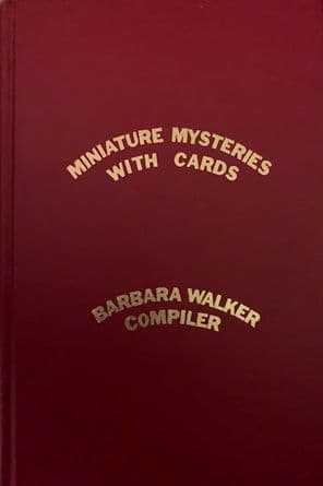 Minature Mysteries with Cards by Barbra Walker