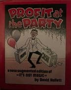 Profit at the Party by David Hallett - Book