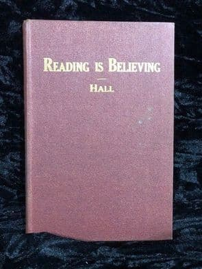 Reading is believing 1947 by Hall