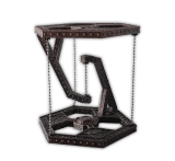 Steampunk Levitation Stand by Retro Rocketeers