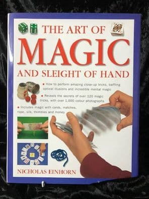 The Art of Magic and Sleight of Hand Book by Nicholas Einhorn