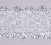Essentials Knit In Lace 30mm Silver
