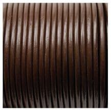 Leather Thonging 30m x 3mm Brown