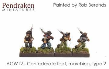<n>ACW12 </n>Confederate foot, marching, type 2