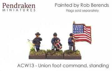 <n>ACW13 </n>Union foot command, standing (15)