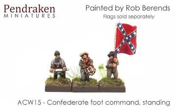 <n>ACW15 </n>Confederate foot command, standing (15)
