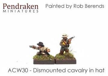 <n>ACW30 </n>Dismounted cavalry in slouch hat (15)