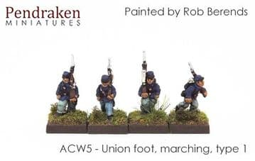 <n>ACW5 </n>Union foot, marching, type 1