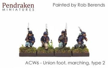 <n>ACW6 </n>Union foot, marching, type 2