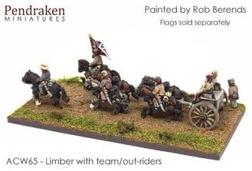 <n>ACW65 </n>Limber with team/out-riders (2)