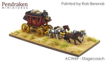 <n>ACW69 </n>Stagecoach with driver