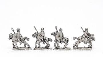 <n>ARL12 </n>Unarmoured cavalry with spear and shield