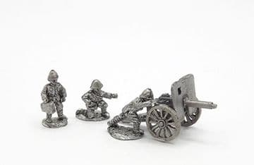 <n>BW11 </n>British 1pdr pom-pom gun with crew, limber and horses (1)
