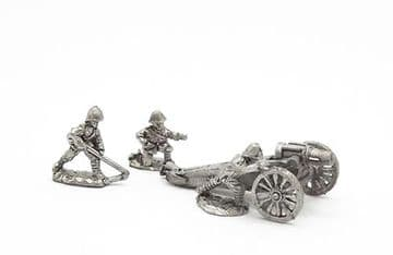 """<n>BW29 </n>British 5"""" Howitzer with crew, limber and horses (1)"""