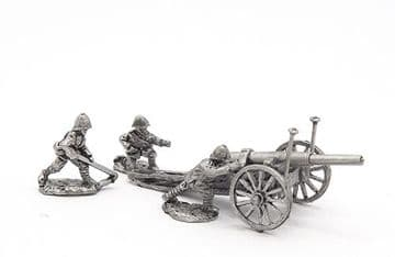 """<n>BW35 </n>British 40pdr/5"""" field gun with crew, limber and horses (1)"""