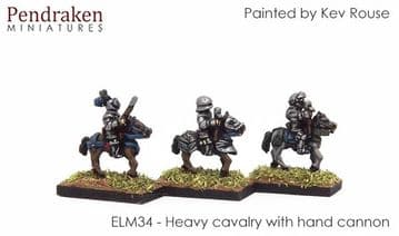 <n>ELM34 </n>Heavy cavalry with hand cannon