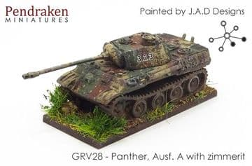 <n>GRV28 </n>Panther, Ausf. A, with zimmerit