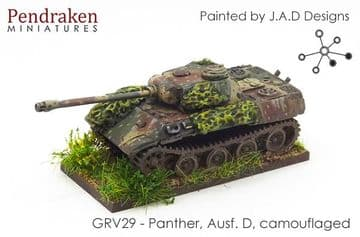 <n>GRV29 </n>Panther,  Ausf. D, camouflaged