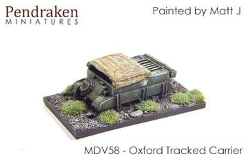 <n>MDV58 </n>Oxford Tracked Carrier