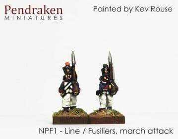 <n>NPF1 </n>Line/Fusiliers, march attack