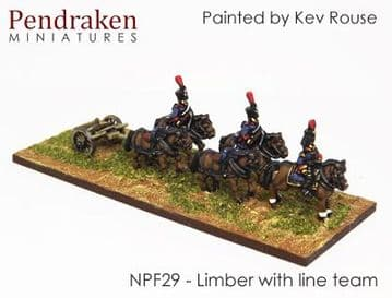 <n>NPF29 </n>Limbers with line team / out-riders (2)