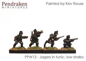 <n>PPW13 </n>Jagers in tunic, low shako