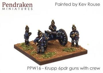 <n>PPW16 </n>Krupp C61 6pdr RBL with crew (3)