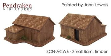 <n>SCN-ACW6 </n>Small barn, timber