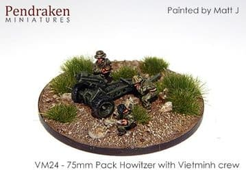 <n>VM24 </n>75mm pack Howitzer with Vietminh crew (2)