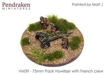 <n>VM39 </n>75mm pack Howitzer with French crew (2)