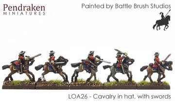 <n>LOA26 </n>Cavalry in hat, with sword