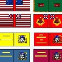 American War of Independence Flags