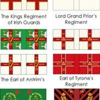 League of Augsburg Flags