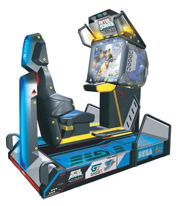 After Burner Climax Deluxe Arcade Machine