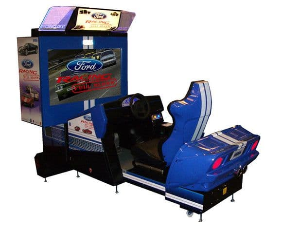 Ford Racing Full Blown Deluxe Arcade Machine Driving Game