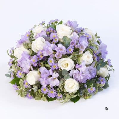 Scented Posy - Lilac & White