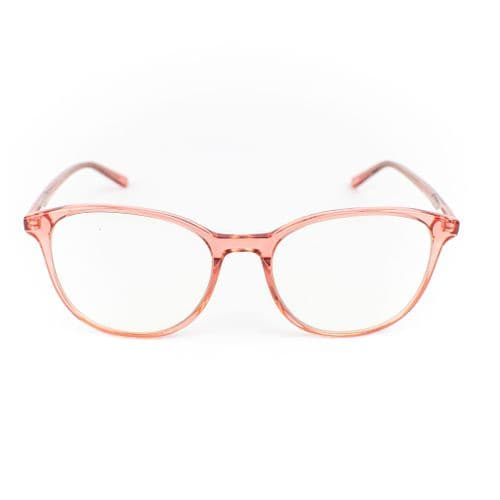 Bloom - A stunning, statement design. These carefully crafted acetate frames come in pastel pink. Lazula Lux are specialists in high end carefully crafted, luxury eco friendly blue light blocking glasses. Our lenses are of high quality  with anti-scratch coating. Lazula Lux eyewear protects your eyes from excessive blue light rays which are linked to digital eye strain, dry eyes, headaches, migraines, insomnia and other sleep problems. In addition our glasses carry sunglasses level UV-protection so are perfect outdoor wear and are super stylish. All materials used in our frames and packaging is eco-friendly and we donate 10% of profits from each sale to the Big Blue Ocean Cleanup charity which works tirelessly to clear plastic pollution from our beaches and oceans.