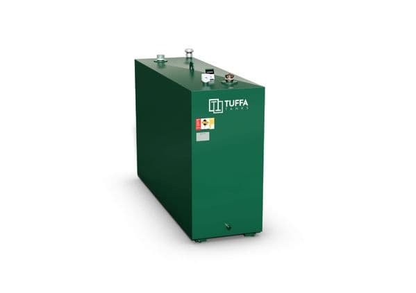 1100  Litre Steel Bunded Oil Tank - Fire Protected
