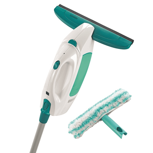 LEIFHEIT Click System Dry & Clean Window Vac Set With Washer And Handle