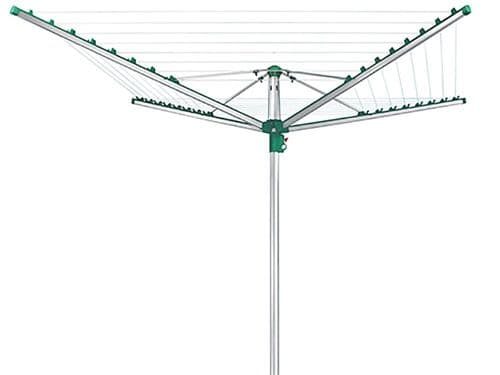 LEIFHEIT Linomatic Easy 400 Rotary Washing Line Airer Dryer 40m