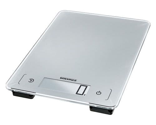 SOEHNLE Page Dishwasher Safe Water Proof Digital Kitchen Weighing Scales