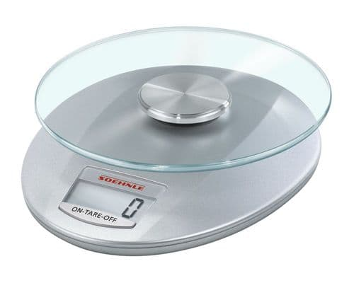 SOEHNLE Roma Digital Kitchen Weighing Scales Silver