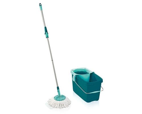 LEIFHEIT  Clean Twist System Disc Mop and Bucket Set