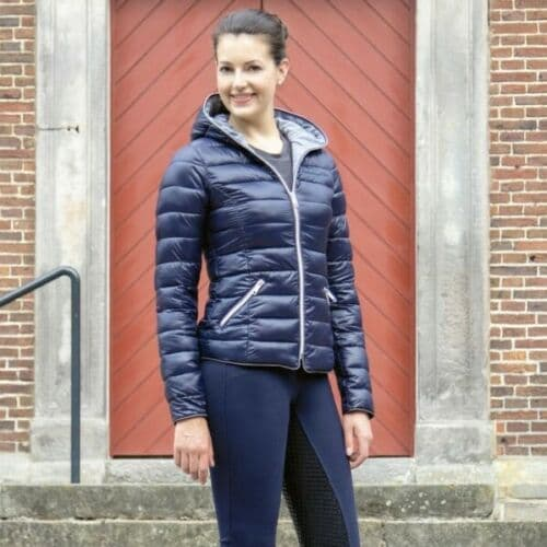 HKM ELLA SHINE QUILTED JACKET
