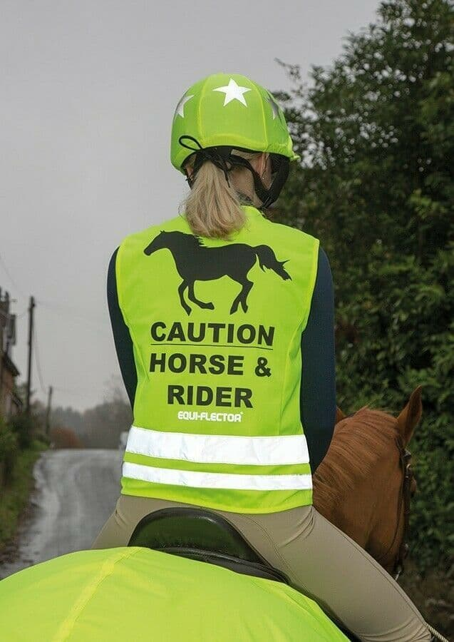 SHIRES EQUI-FLECTOR SAFETY VEST YELLOW