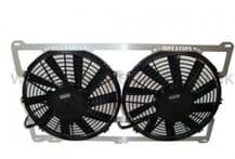 Airtec Cosworth Twin 11inch Italian Made Fans With Alloy Frame Support
