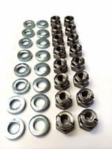 RS Cosworth (All) Exhaust Manifold Washer & Nut Kit x 16