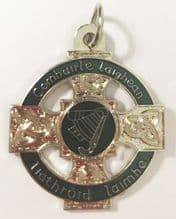 34mm Irish Silver Medal with Tab from €4.00